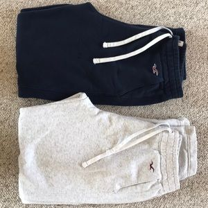 Hollister regular leg sweatpants Men's size medium
